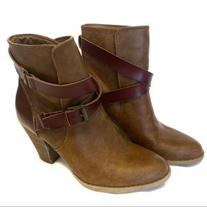 American Eagle Outfitters heeled ankle boots